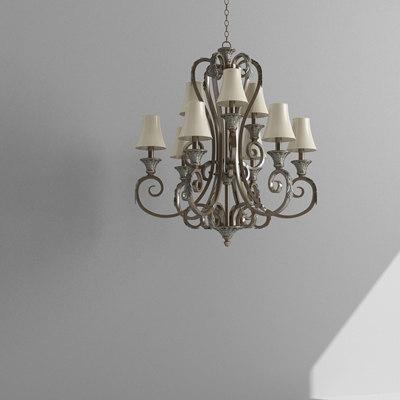 chandelier lighter 3d model