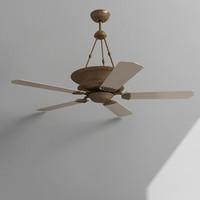 3d max ceiling fan