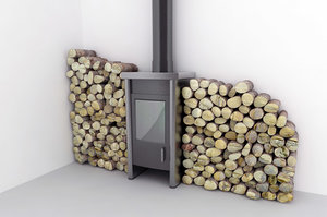 maya wood burning pellet stove