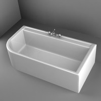 bathtub 3d model