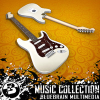 3dsmax electric guitar