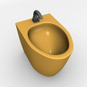 3ds max bathroom tap