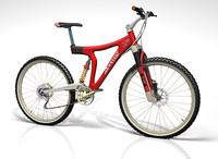 3d mountain bike lightwave