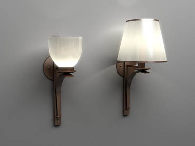 wall lamp-vray max zip