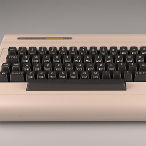 3d computer commodore 64