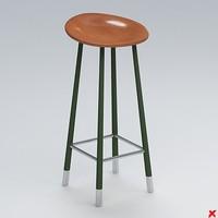 3ds max bar stool