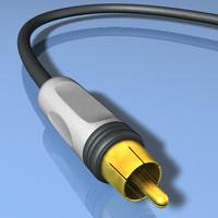 coaxial cable 3d c4d