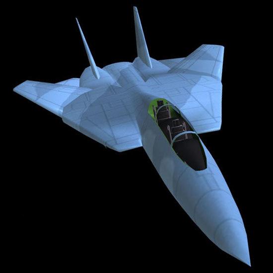 f14 military jet fighter 3d model
