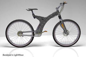mountain bike lightwave 3d model