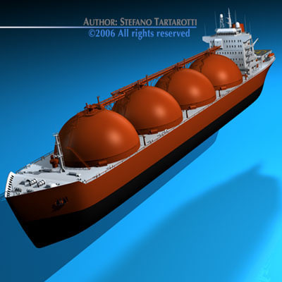 3ds max lng carrier