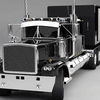Generic Semi Truck B (t)