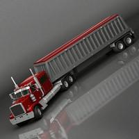 truck corn 3d model