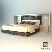 Giorgetti  Hermitage Bed
