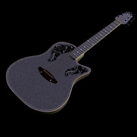poser electric ovation guitar pzgtr