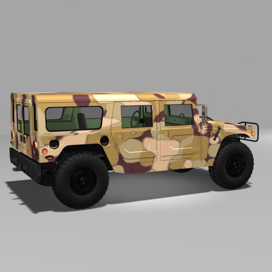 poser military h1 hummer mh1