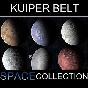 3d 10 dwarf planets kuiper