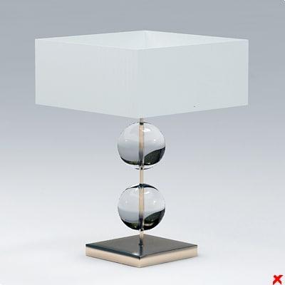 lamp 3d dxf