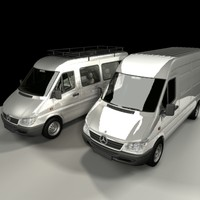 3d mercedes benz sprinter