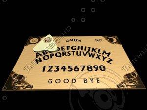 3d ouija board