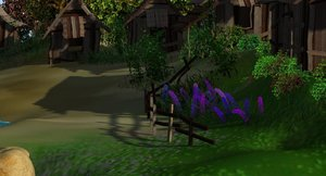 water plants trees 3d ma