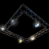 lighting rig 3d model