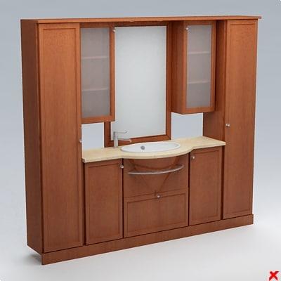 sink basin cabinet dxf