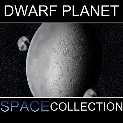 dwarf planet el61 3d model
