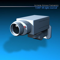 3d model surveillance camera
