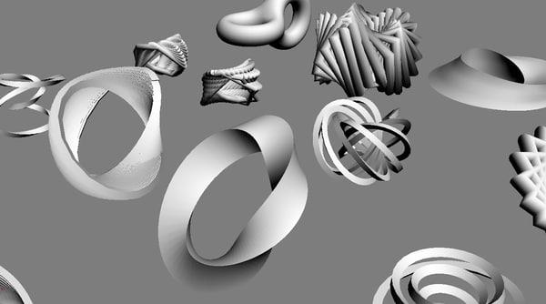 abstract shapes max