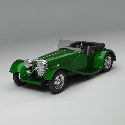 car vehicle sport 3d model