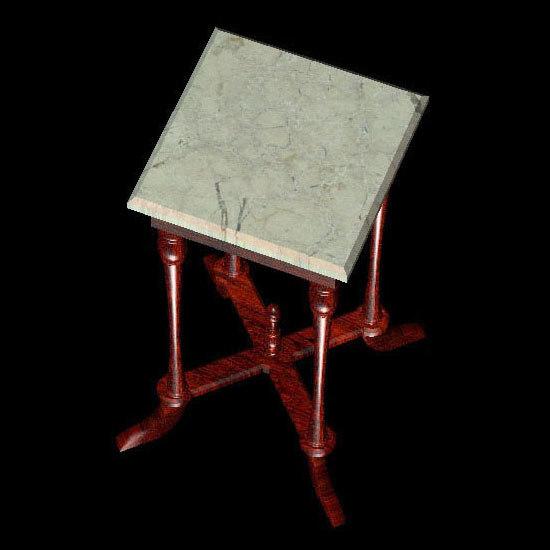 3d antique table pztbl nite model