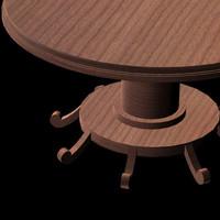 pz3 small table pztbl rosm