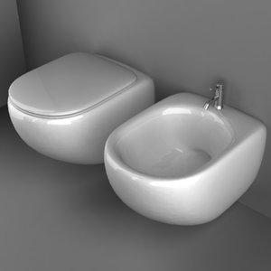 3dsmax bathroom basin