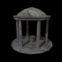 3d model temple