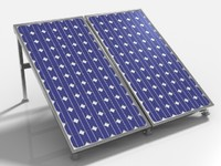 Solar PV Panel Array.obj