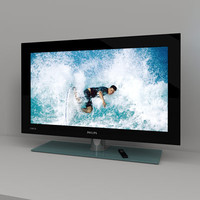 flatscreen philips cineos ambilight 3d model