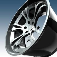 wheel krazy 3d c4d