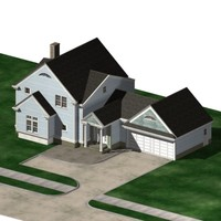 3ds max single family