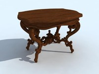 3d antiquarian table
