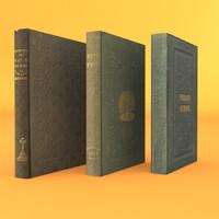 3 Old rare Books