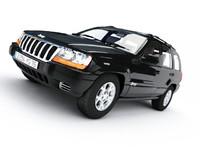 3d grand jeep cherokee