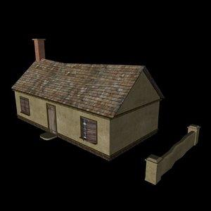 3d c4d haus house klein