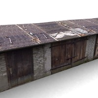 3d model building garage