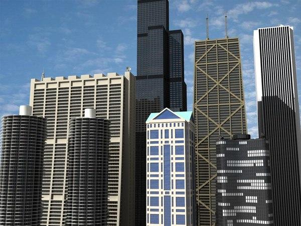 chicago skyscrapers vol 2 max