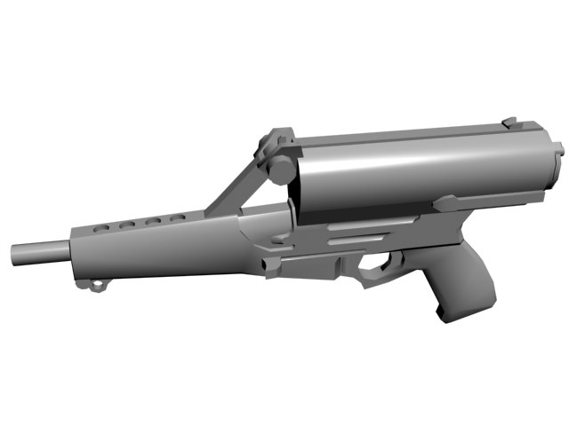 calico m950 3d model