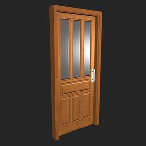 3ds max door