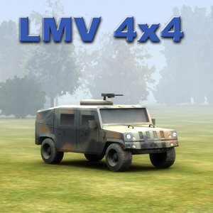 4x4 lmv 3d model