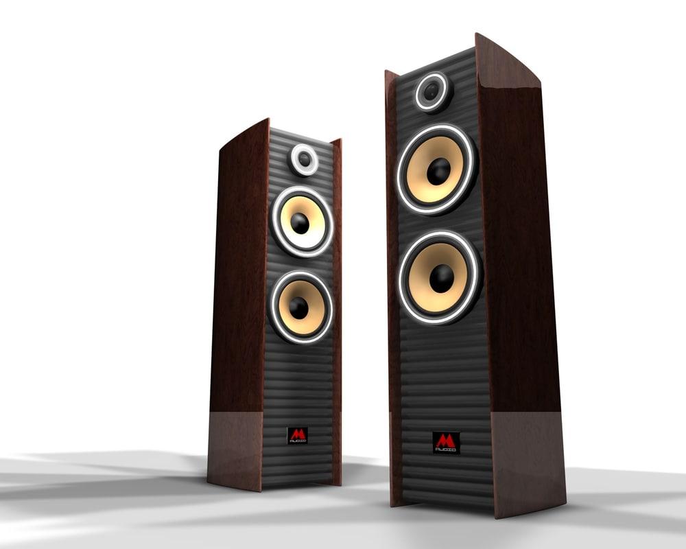3d model exclusive speaker