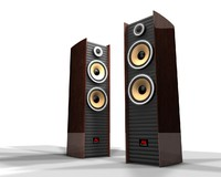 3d model exclusive speaker