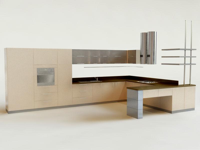 lightwave kitchen makovaya